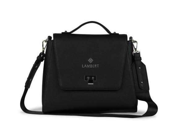 Lambert Elie Bag Black Front