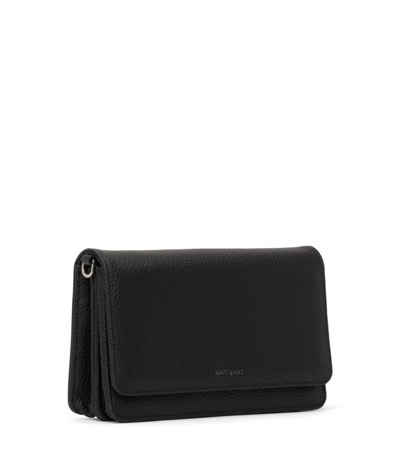 Matt and Nat Bee Crossbody Purity Collection Black Side