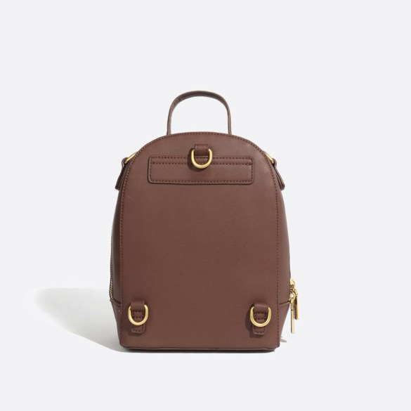 Pixie Mood Cora Small Backpack Dark Oak Back