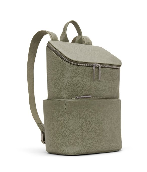 Matt and Nat Brave Backpack Dwell Collection Matcha Side
