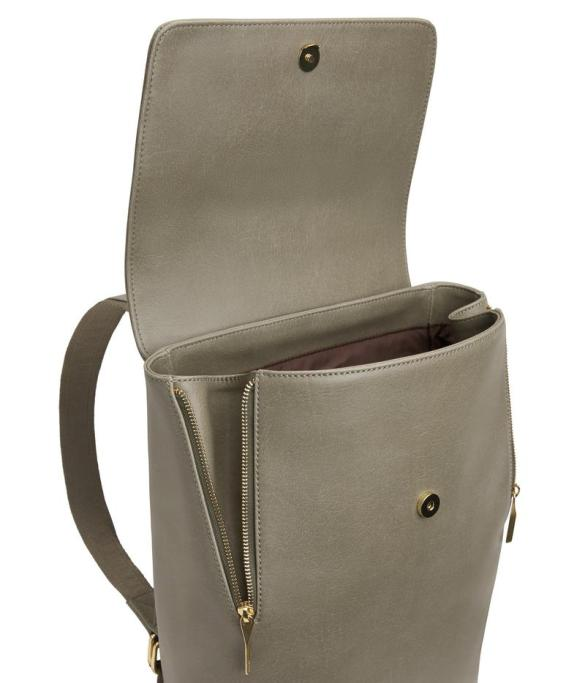 Matt and Nat Fabi Backpack Vintage Collection Sage Inside