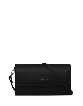 Matt and Nat Drew Med Crossbody Vintage Collection Black Front
