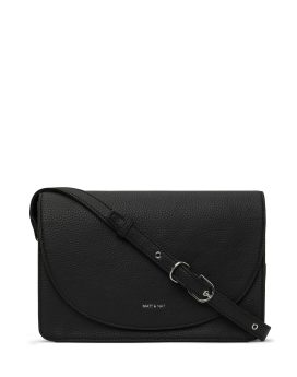 Matt and Nat Sofi Crossbody Purity Collection Black Front