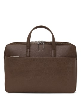 Matt and Nat Tom Briefcase Dwell Collection Chestnut Front