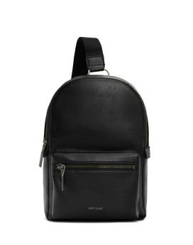Matt and Nat Voas Small Sling Dwell Collection Black Front
