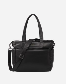 Pixie Mood Bubbly Tote Black Front