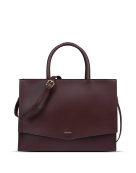 Pixie Mood Caitlin Tote Chocolate Front
