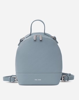 Pixie Mood Cora Backpack Small Mineral Blue Front