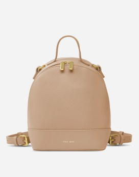 Pixie Mood Cora Backpack Small Sand Front