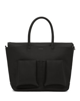 Matt and Nat Raylanmed Diaper Bag Vintaage Collection Black Front 2