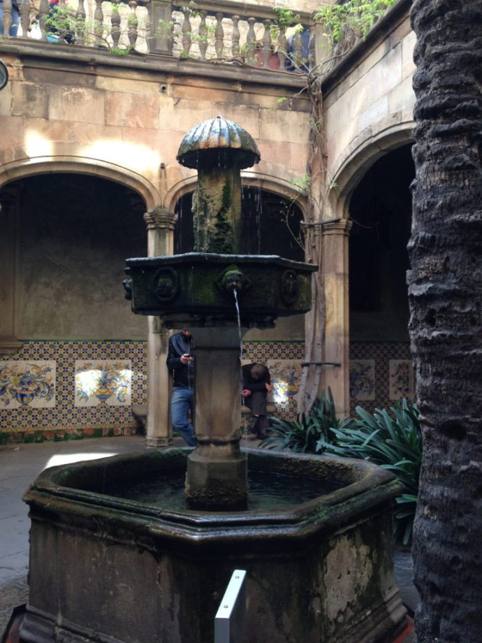 Fountain in Catalunya