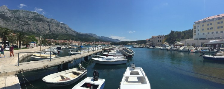 One of the many beautiful harbours on the Dalmatian Coast, Croatia
