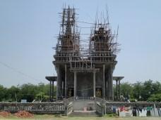 Monastery under construction. Cambodian I think?