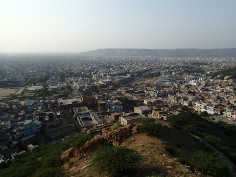 Views over Jaipur from the Monkey Temple