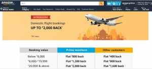 Flight Tickets On Amazon