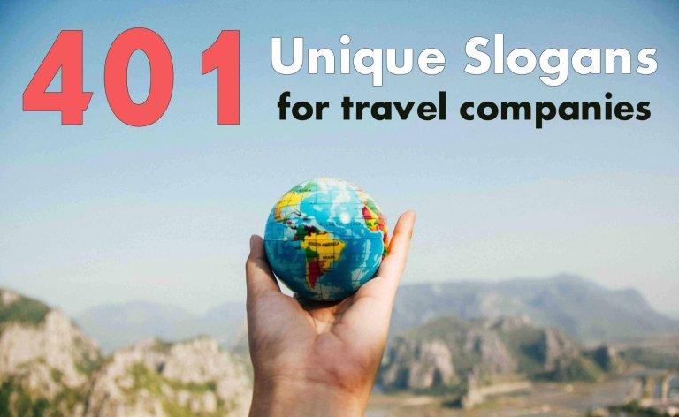 Unique Slogans for Travel Companies