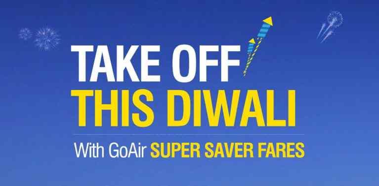 GoAir Diwali Sale