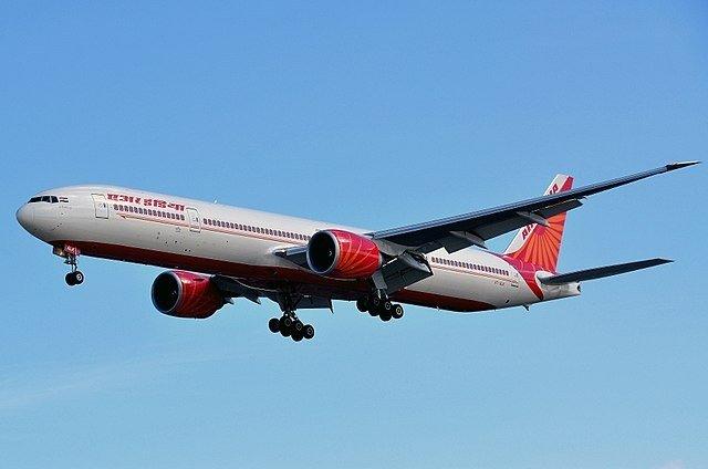 Air India Bhubaneswar Surat flight