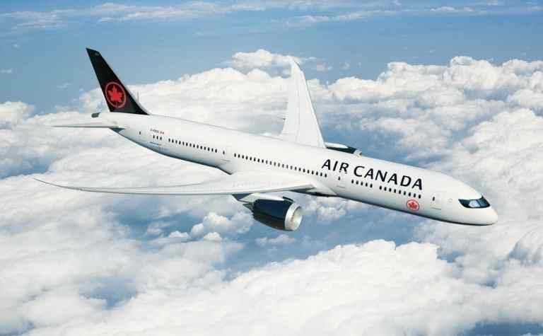 Air Canada Special Flight Delhi Toronto