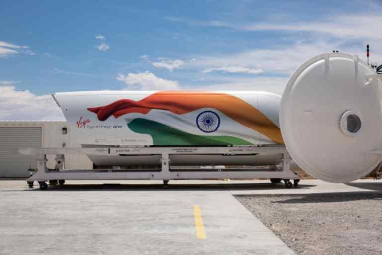 Bengaluru Airport Virgin Hyperloop