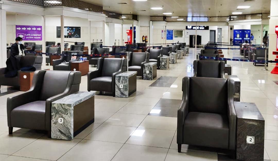 Delhi Airport COVID-19 Testing Facility
