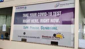 Mumbai Airport Express COVID-19 Testing Facility