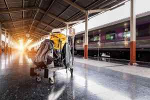 Railways Bag On Wheels