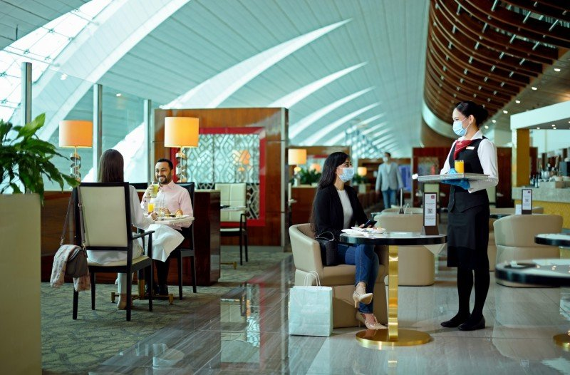 Emirates Re-Opens Worldwide Lounges