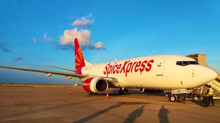 SpiceJet Hyderabad Air Cargo
