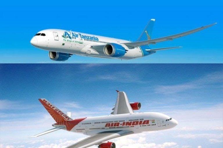 Air Tanzania Air India Agreement