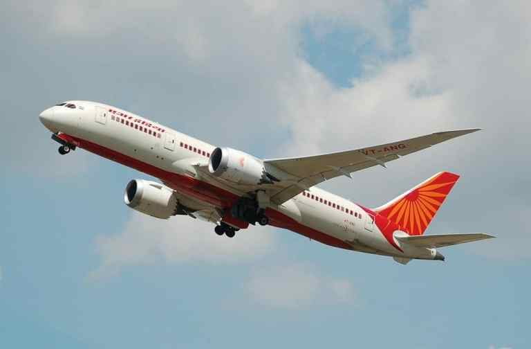 Air India International Flights on February 05