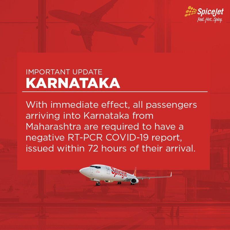 Important update for passengers travelling to Karnataka from Maharashtra.