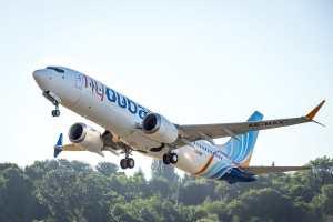 Flydubai 737 MAX Aircraft