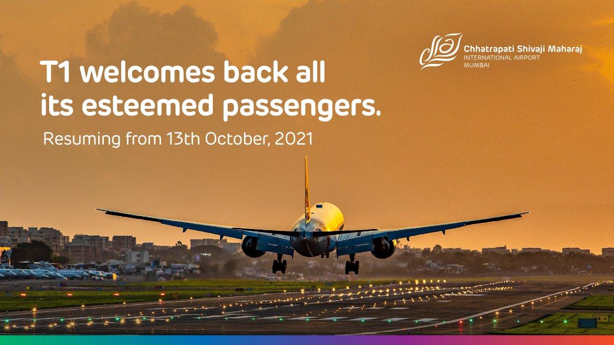 Mumbai Airport Reopens Terminal 1