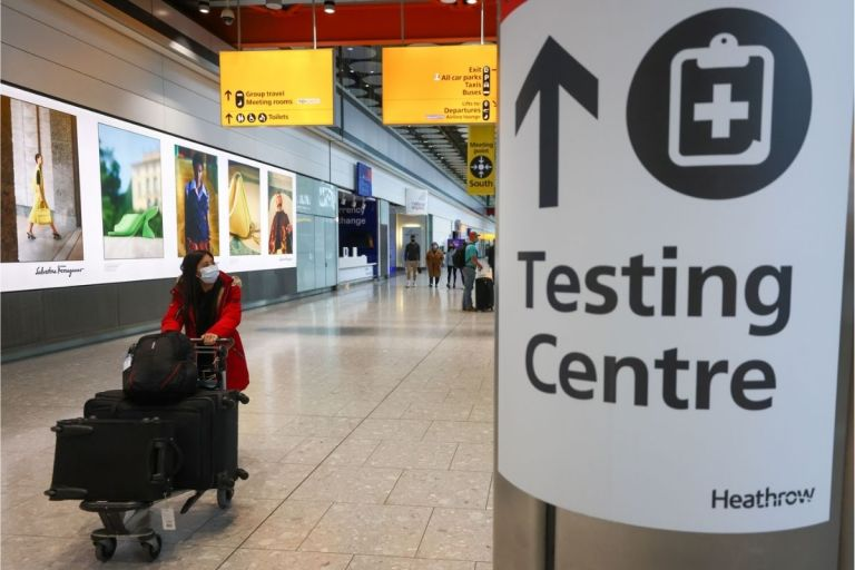 UK To Ease Covid-19 Testing Rules