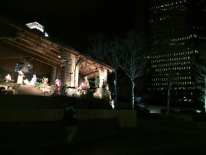The Nativity Scene at Steel Plaza