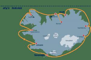 ProCruise's trip around Iceland