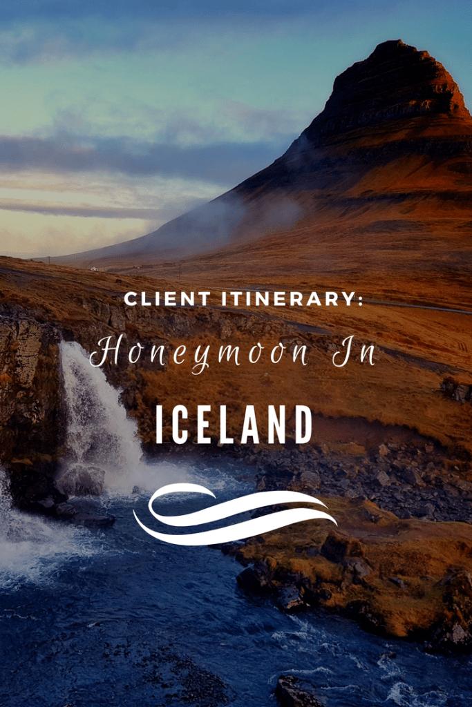 honeymoon itinerary iceland