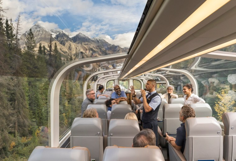 Rocky mountaineer trip planning