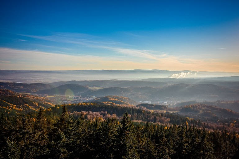 Prague mountains