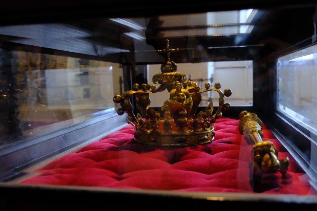皇室的冠冕亦有展出。