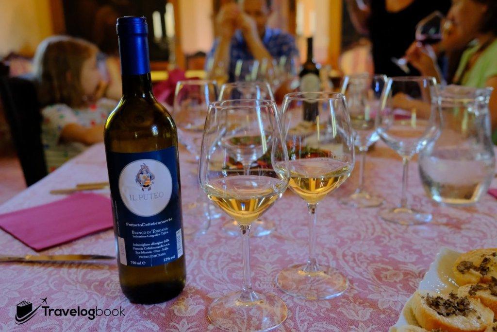 雖不是Wine Tasting,但各道菜亦配以餐酒。