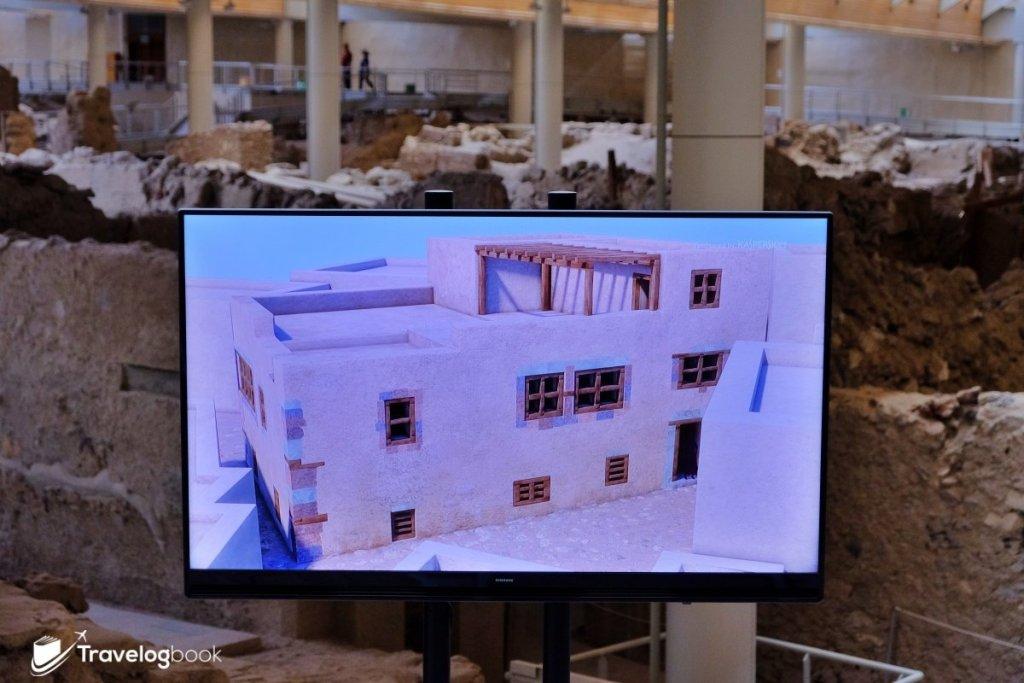 想知昔日房屋的樣子?現場還設有講解的視頻。