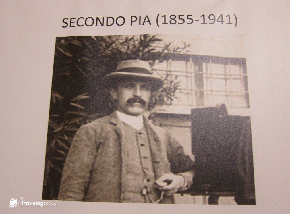 首幅裹屍布的相片,便是由這位Pia先生在1898年所攝。