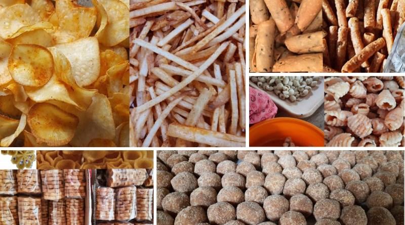 5 Crunchy Snacks from Kerala in India