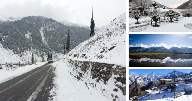 6 Beautiful Snow Places in India to visit during Winter
