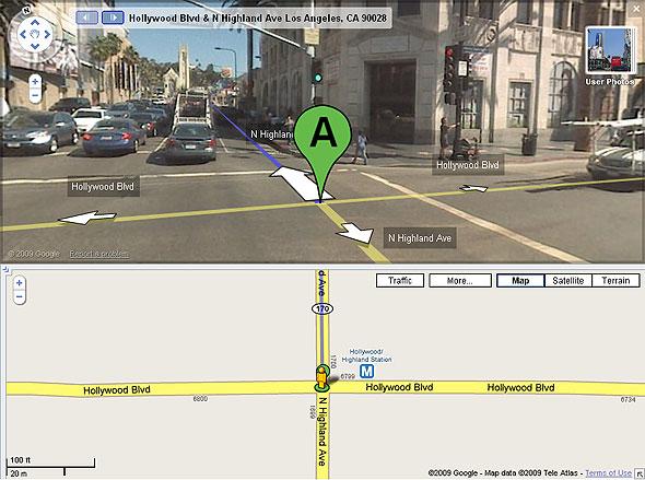 Hollywood Blvd & Highland Ave