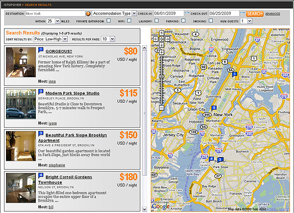 iStopOver Search results for New York