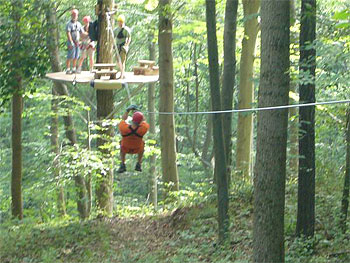 Hocking Hills Zipline Canopy Tour