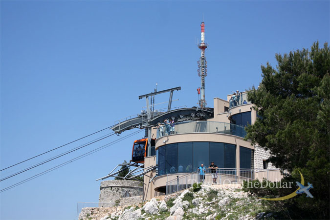 Top Cable Car Station, Dubrovnik